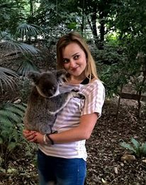 with koala in Brisbane